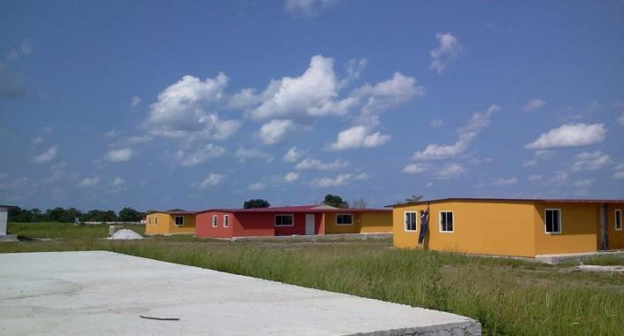 120 moradias sociais – Lunda Sul, Angola