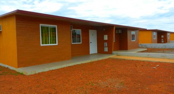 20 moradias sociais – Zaire, Angola